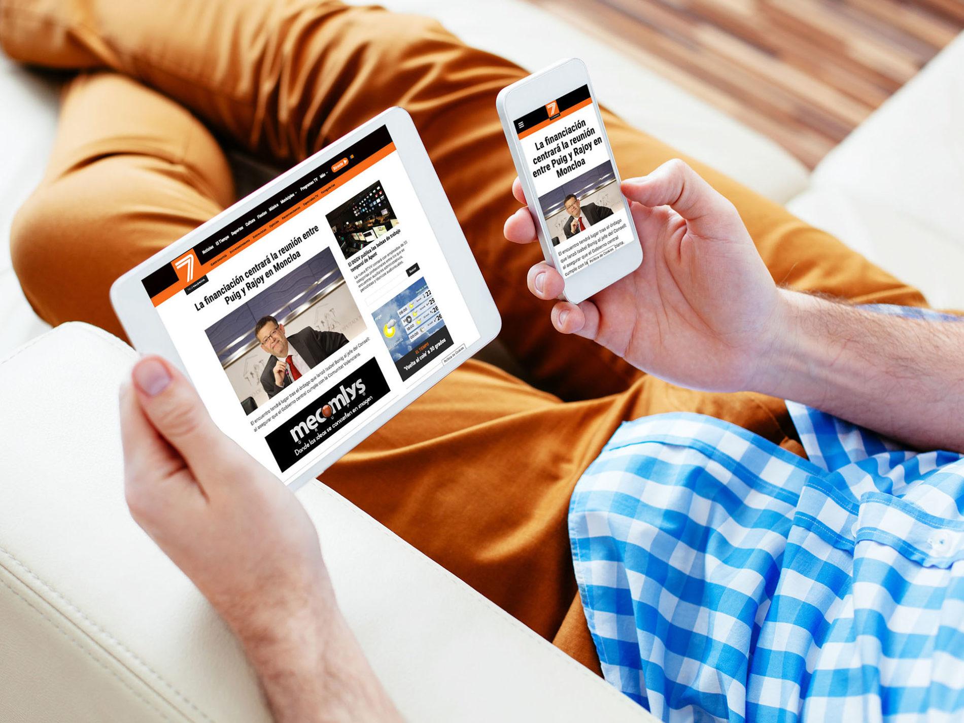 7TeleValencia iPhone y iPad