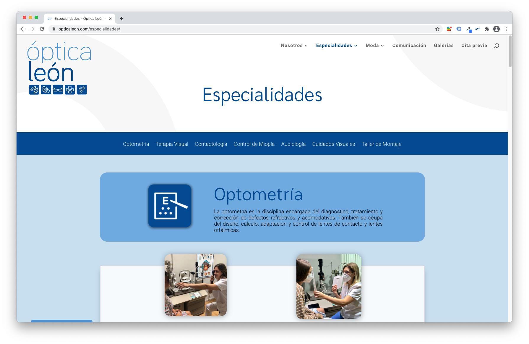 Óptica León Especialidades Bolcreativo