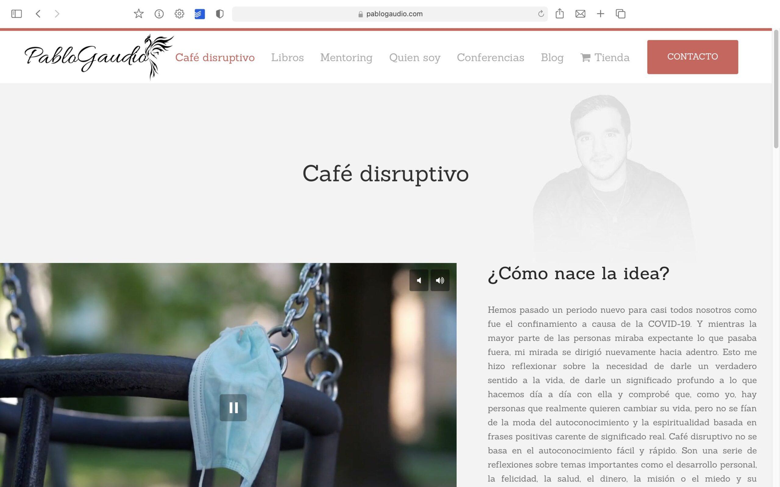 Pablo Gaudio Café Bolcreativo