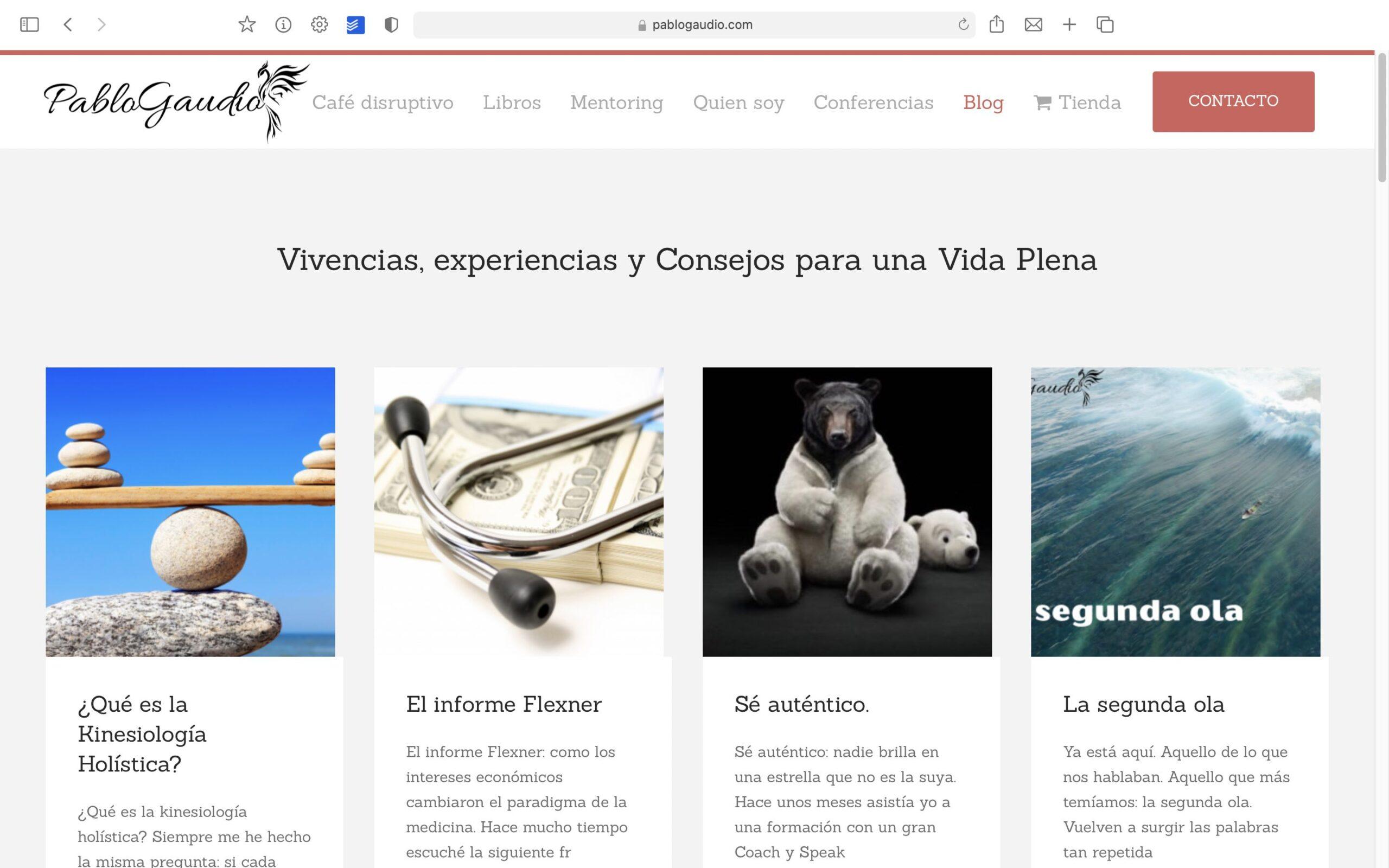 Pablo Gaudio Blog Bolcreativo