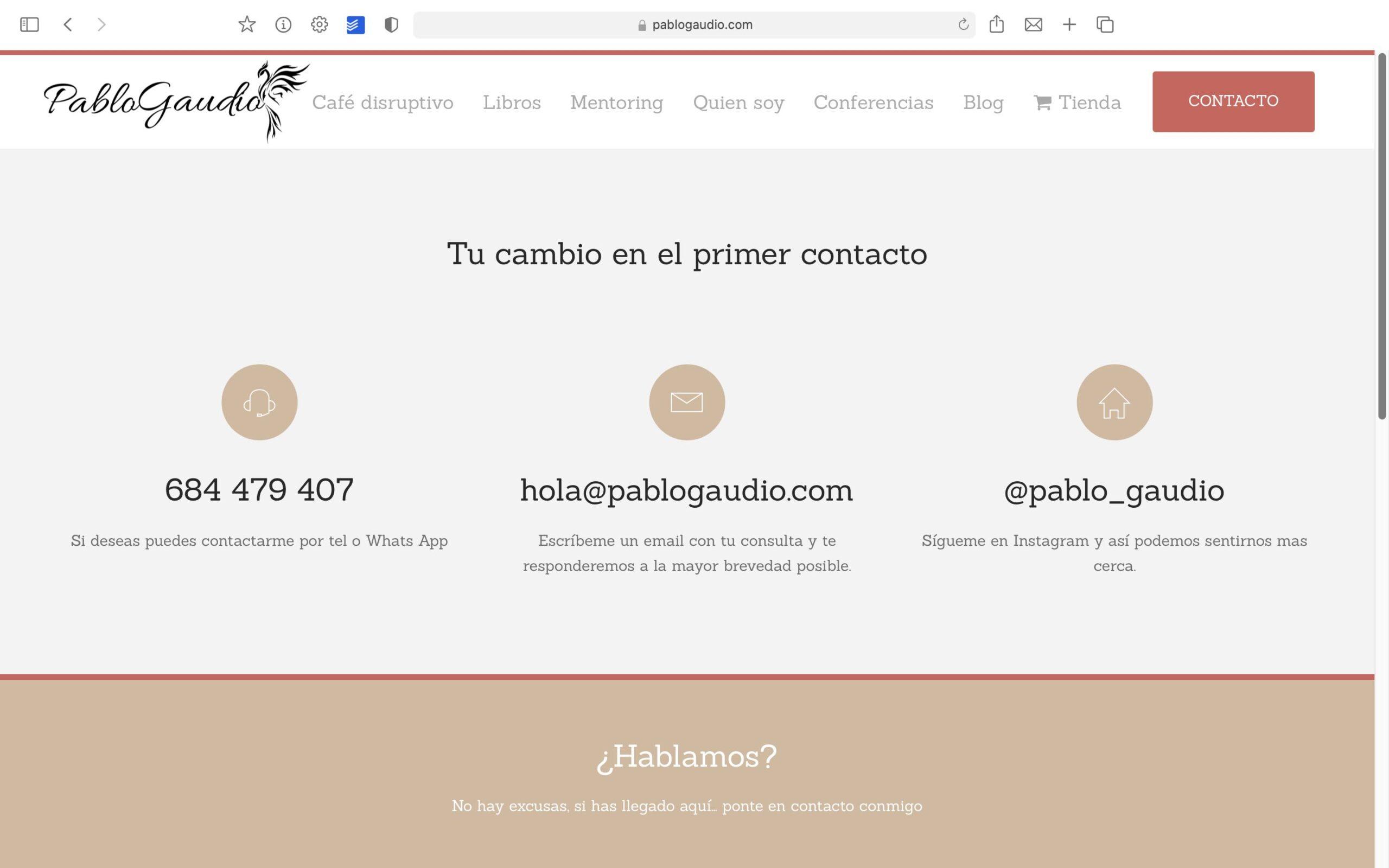 Pablo Gaudio Contacto Bolcreativo